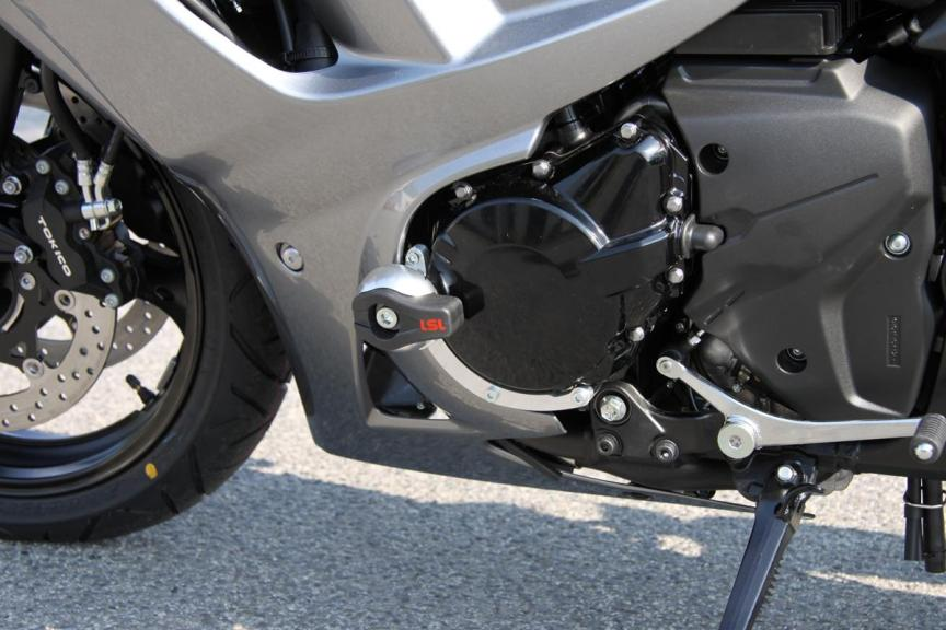 suzuki frame sliders & crash protectors. available for almost