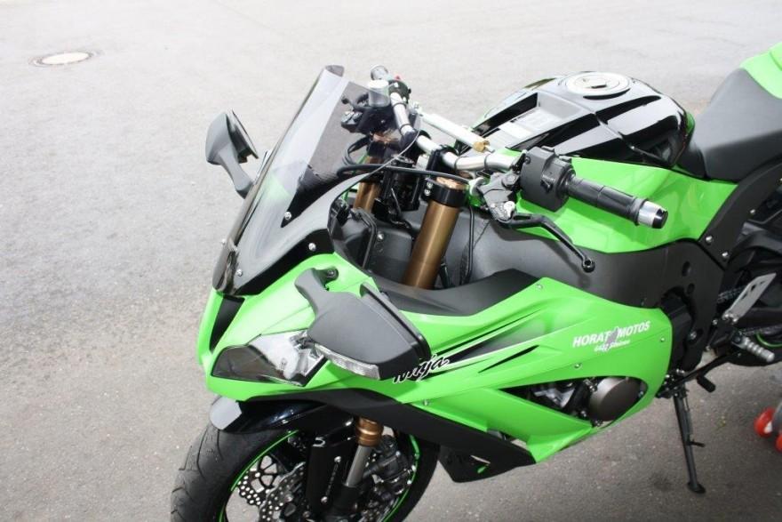 Kawasaki Handle Bar Riser Kits  StreetFighters Inc  Superbike Handle