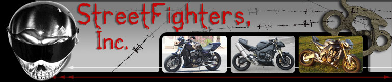B-King StreetFighter, SportBike & Motorcycle Accessories StreetFighters Inc.
